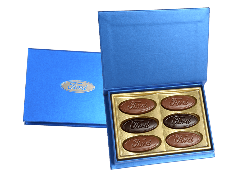 Rixos, 6 Pcs Customized Belgian Chocolates