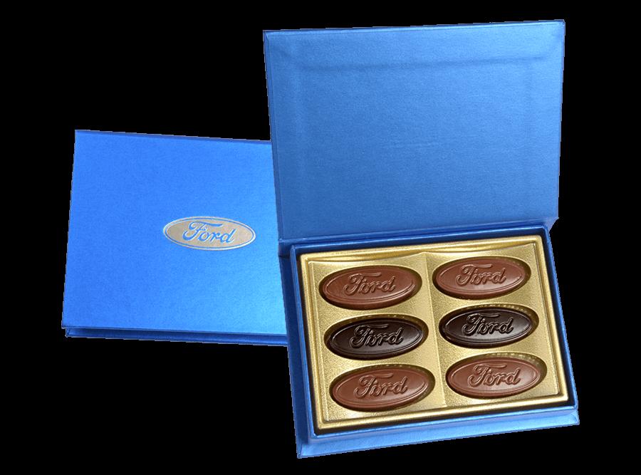 Rixos, 6 Pcs Customized Belgian Chocolates