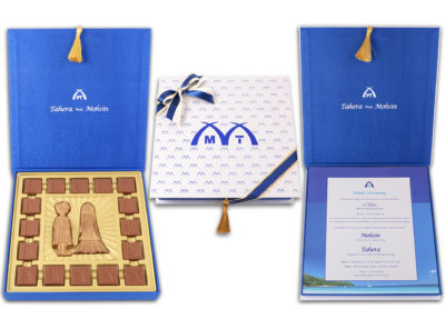 Sonam, 16 Pcs + Couple Bar Customized Belgian Chocolates With Wedding Cards Insert