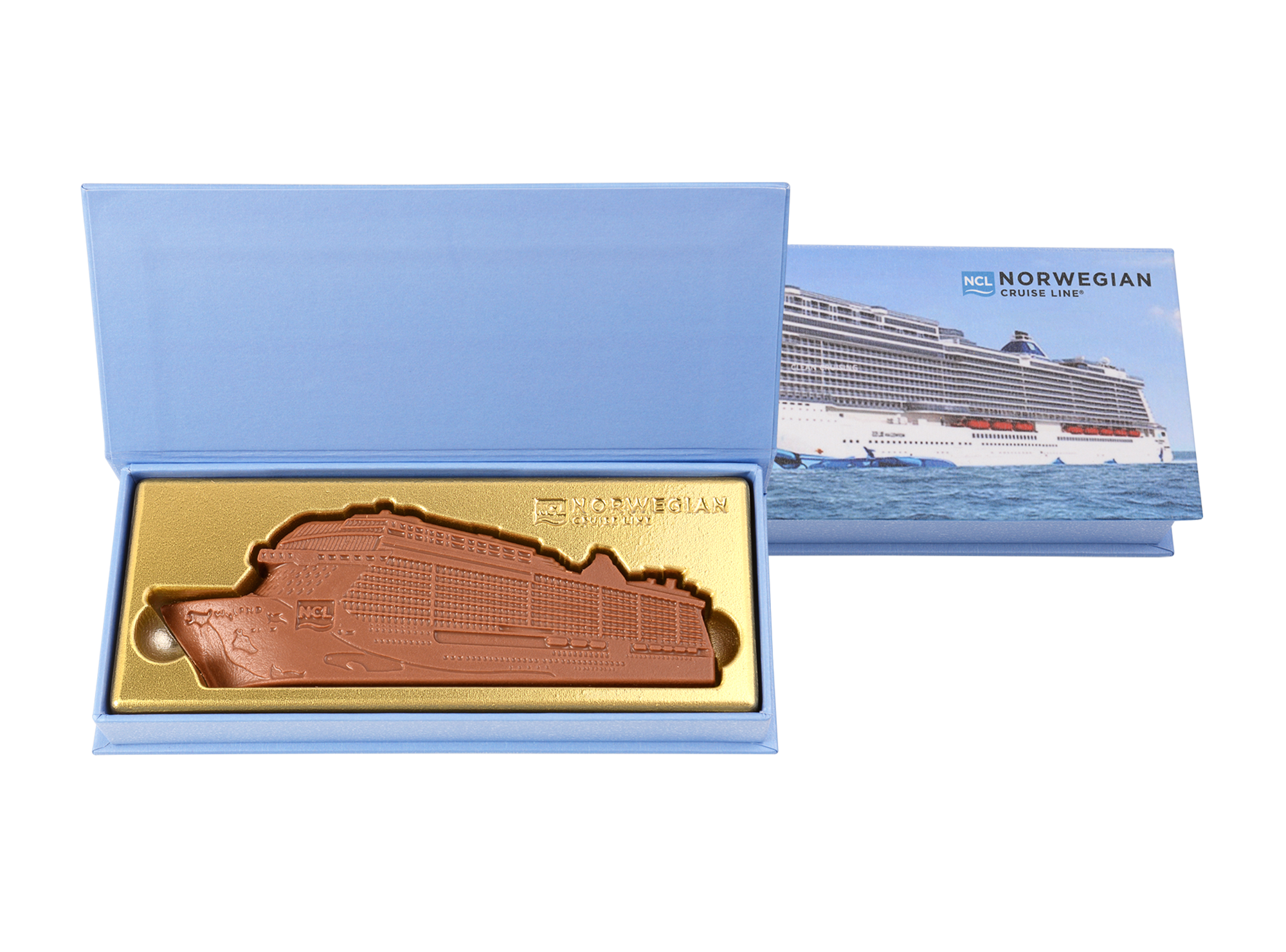 Cruise Liner, 1 Pc Customized Belgian Chocolates