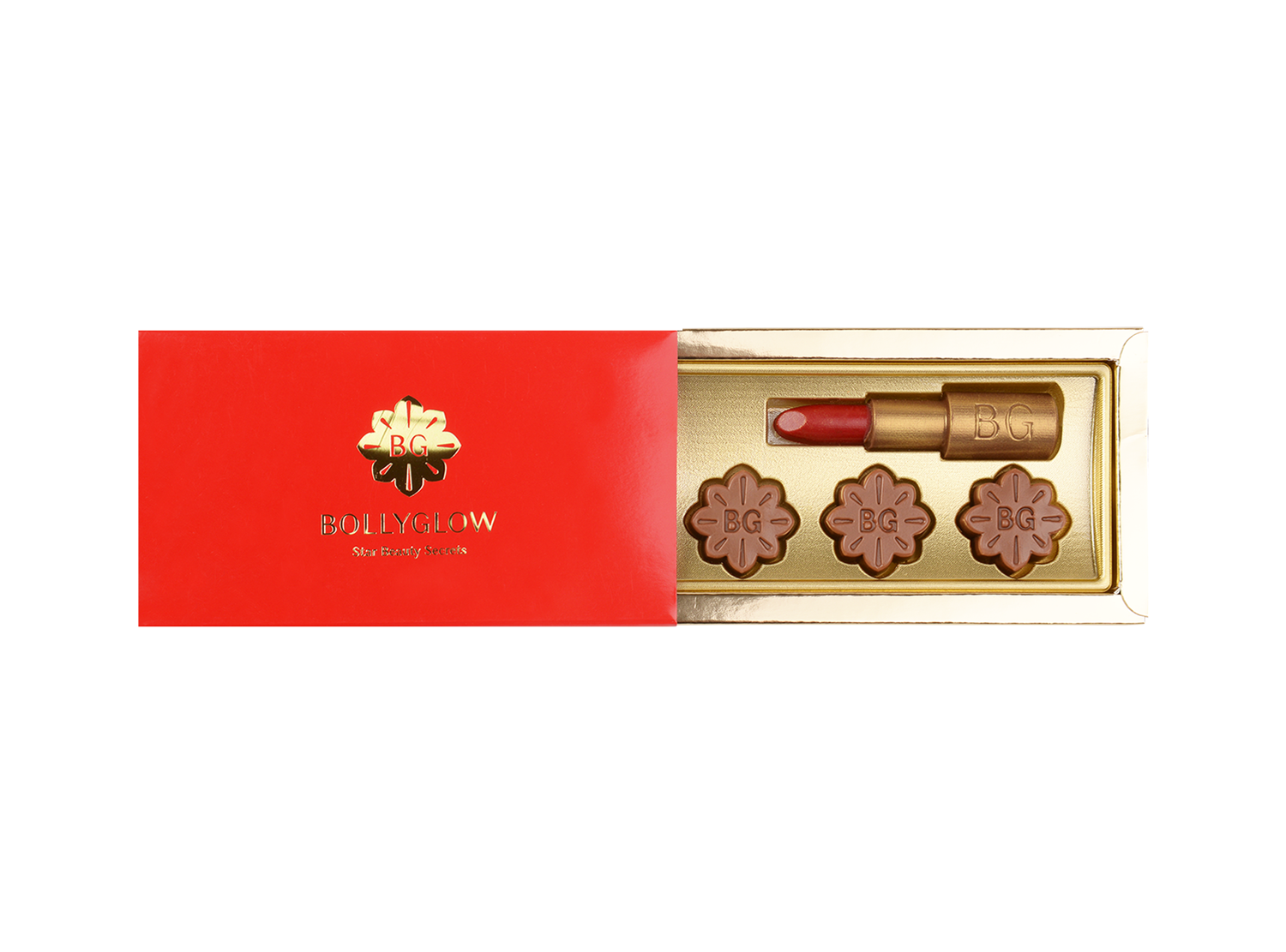 Cosmetics, 4 Pcs Cosmetics In Customized Belgian Chocolates