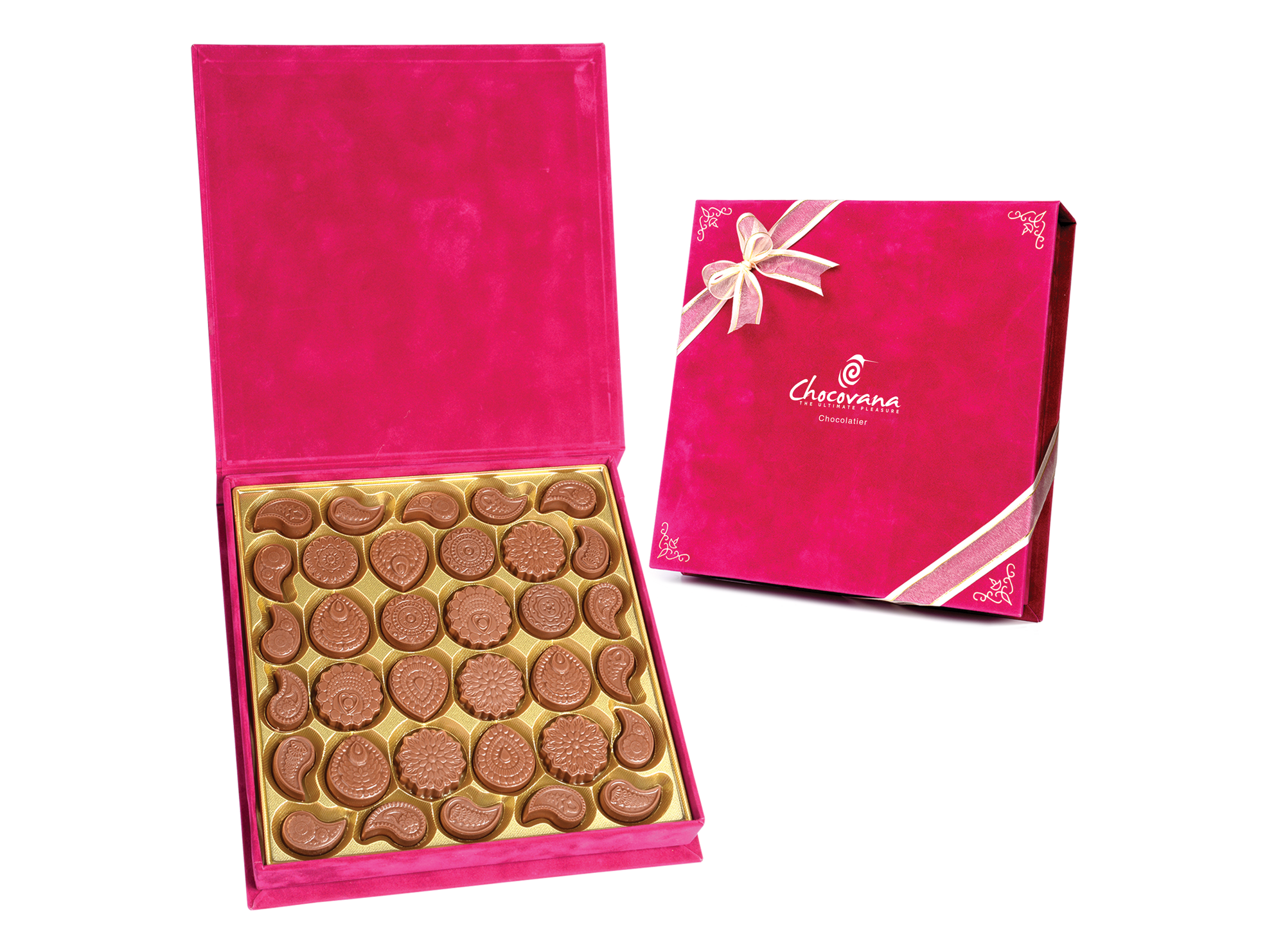 Traditional Sonam, 34 Pcs Customized Belgian Chocolate