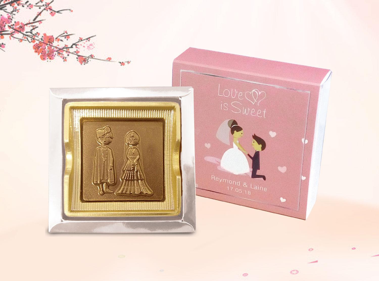 A Classic Belgian Wedding: Wedding Chocolate Collection